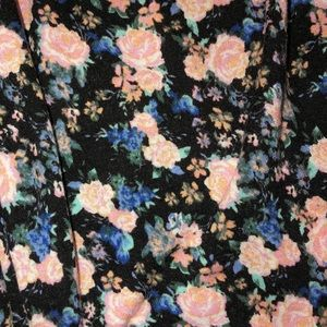 Garage Tops - Small floral tank top with laced back